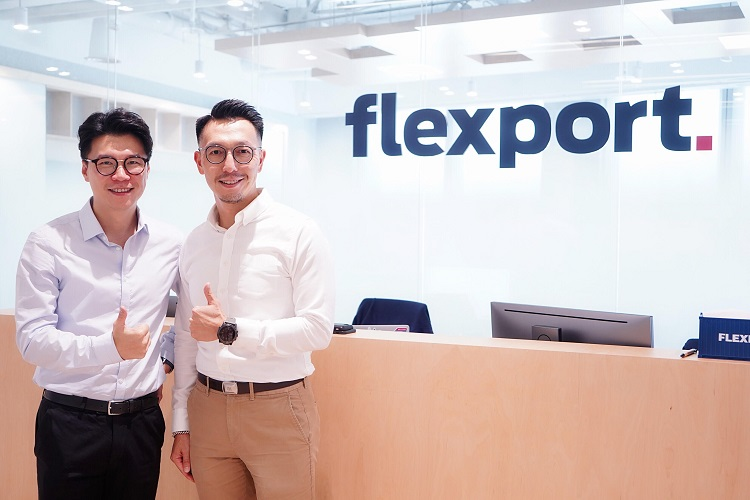 Henry-Ko-managing-director-of-Flexport-Asia-left-and-Keith-Ip-CEO-International-Business-of-SF-Express-Group-right.